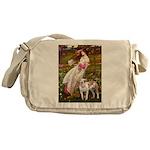 Windflowers / Pitbull Messenger Bag