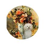 Vase / Poodle (White) 3.5