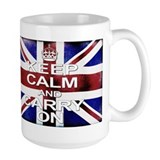 Keep Calm Union Jack Ceramic Mugs