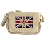Keep Calm Union Jack Messenger Bag