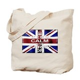 Keep Calm Union Jack Tote Bag