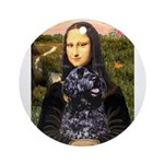 Mona Lisa's PWD (5) Ornament (Round)
