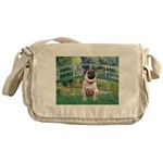Bridge / Pug Messenger Bag