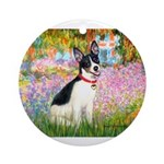 Garden / Rat Terrier Ornament (Round)