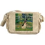 Bridge / Rat Terrier Messenger Bag