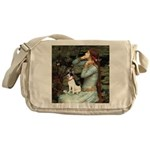 Ophelia / Rat Terrier Messenger Bag