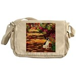 Path / Rat Terrier Messenger Bag