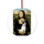 Mona / Rat Terrier Ornament (Round)