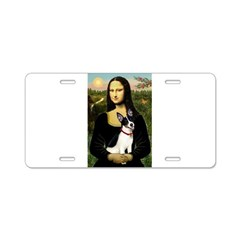 Mona / Rat Terrier Aluminum License Plate