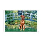 Garden / R Ridgeback 20x12 Wall Decal