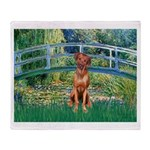Garden / R Ridgeback Throw Blanket