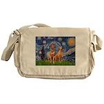 Starry / Rhodesian Ridgeback Messenger Bag