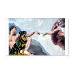 Creation/Rottweiler 20x12 Wall Decal