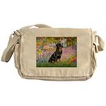 Garden / Rottweiler Messenger Bag