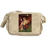Angel #1/Rottweiler Messenger Bag