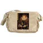 Queen & Rottie Messenger Bag