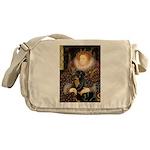 Queen & Rottie Messenger Bag