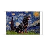 Starry/Rottweiler (#6) 20x12 Wall Decal