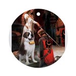 Accolade / St Bernard Ornament (Round)