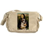 Mona / Saint Bernard Messenger Bag