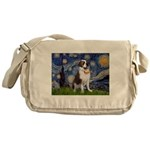 Starry / Saint Bernard Messenger Bag
