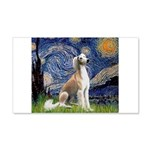 Starry Night / Saluki 20x12 Wall Decal