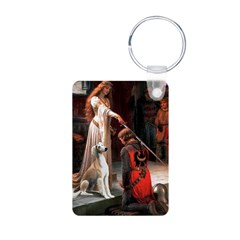 Accolade / Saluki Aluminum Photo Keychain