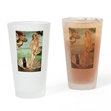 Venus / Schipperke #5 Drinking Glass