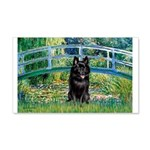 Bridge / Schipperke #4 20x12 Wall Decal
