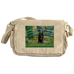 Bridge / Schipperke #4 Messenger Bag