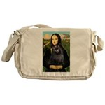 Mona / Schipperke Messenger Bag