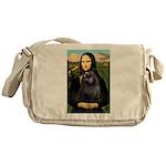 Mona / Schipperke Messenger Bag