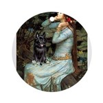 Ophelia / Schipperke #4 Ornament (Round)