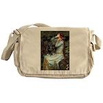 Ophelia / Schipperke #4 Messenger Bag
