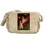 Angel (#1) & Schipperke Messenger Bag