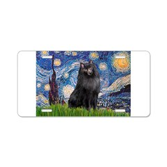 Starry / Schipperke #2 Aluminum License Plate
