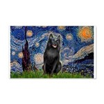 Starry / Schipperke #5 20x12 Wall Decal