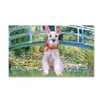 Bridge/Schnauzer #9 20x12 Wall Decal