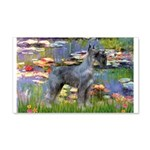 Lilies #2 & PS Giant Schnauze 20x12 Wall Decal