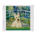 Bridge / Scottie (w) Throw Blanket