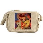 Mandolin / Scottie (w) Messenger Bag