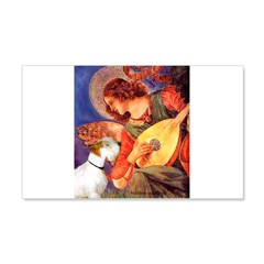 Angel/Sealyham L1 20x12 Wall Decal