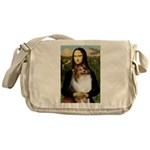 Mona's Sable Sheltie Messenger Bag