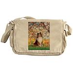 Spring / Sheltie (#1) Messenger Bag