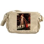 Accolade / 3 Shelties Messenger Bag