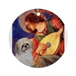 Angel3/Shih Tzu (P) Ornament (Round)