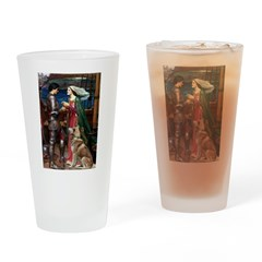 Tristan & Isolde Husky Drinking Glass