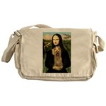 Mona Lisa / Silky T Messenger Bag