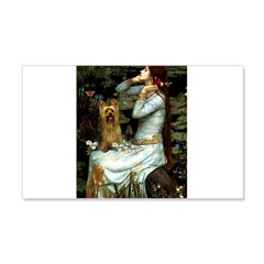 Ophelia / Silky T 20x12 Wall Decal