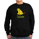 Celeste Loves Puppies Sweatshirt (dark)